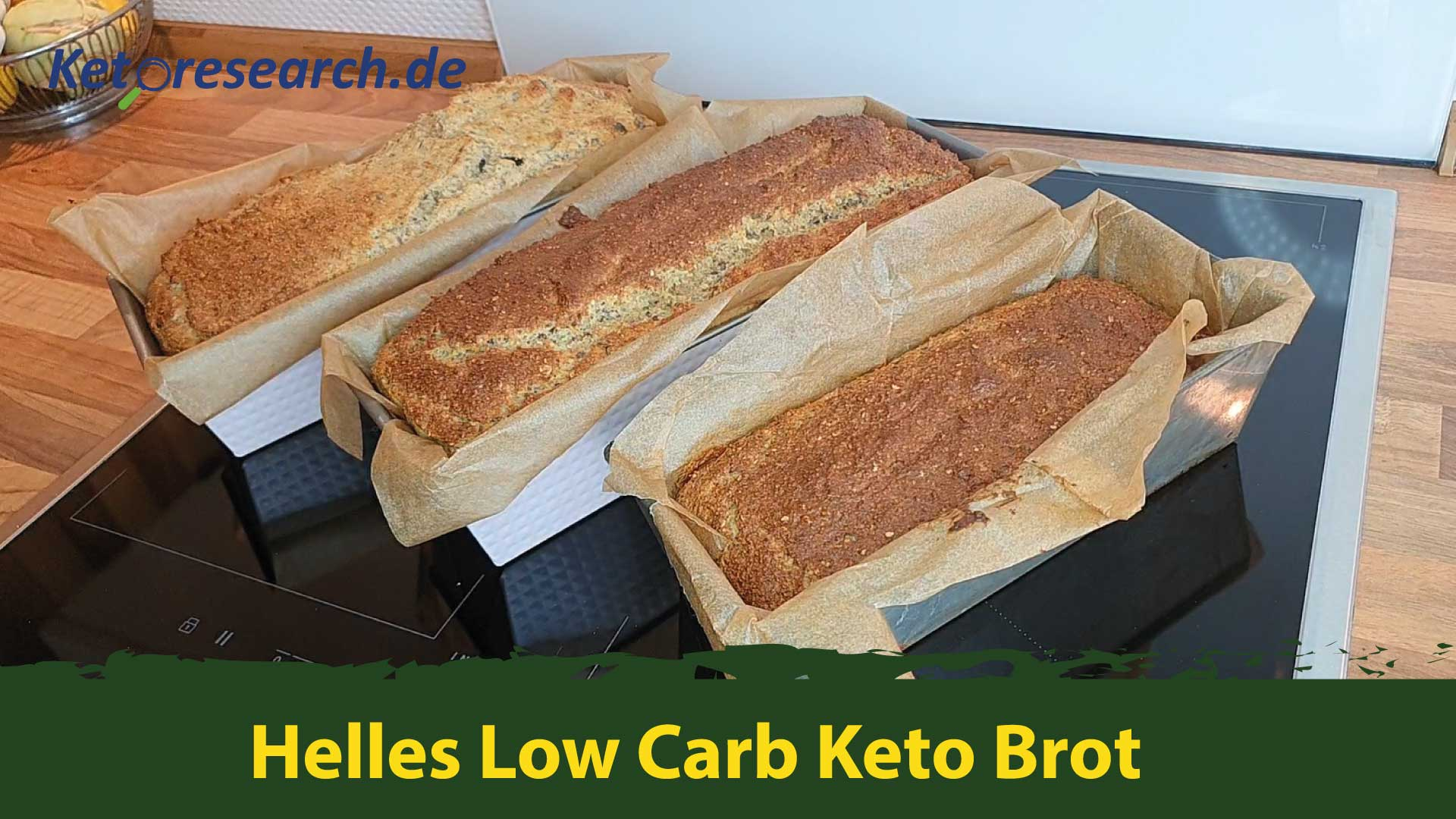 Low Carb Keto Brot